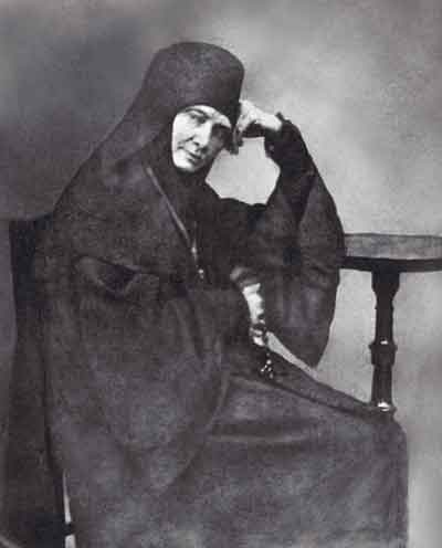 Игумения Мария (Маргарита Михайловна Тучкова). 1840-е годы. Фотография с дагеротипа. ГБВИМЗ