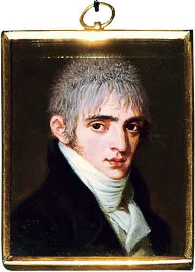 Л.Гуттенбрунн. Миниатюрный портрет А.А.Тучкова. 1803. ГИМ