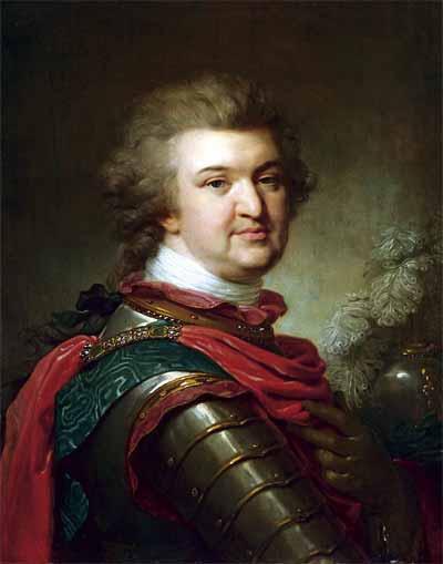 И.-Б. Лампи Старший. Портрет Светлейшего князя Г.А.Потемкина-Таврического. Около 1791 года. ГЭ<br /><br />