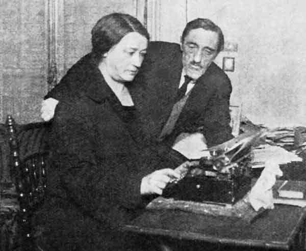 И.С. и О.А. Шмелевы. 1926<br />