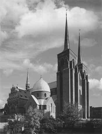 Роскилльский собор. Дания