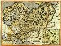 Россия с сопредельными. Герард Меркатор. Амстердам. 1600-е годы. Собрание А.Л.Кусакина