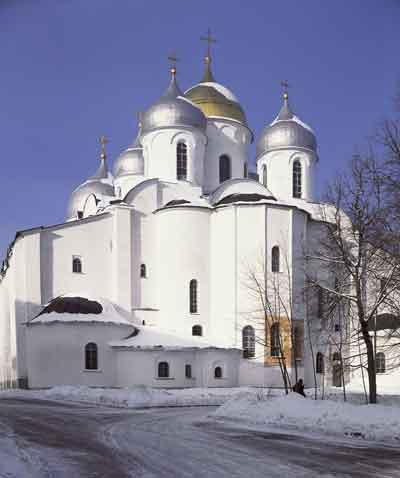 Софийский собор. Восточный фасад
