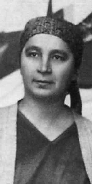 Н.Гончарова. Париж. 1920-е годы