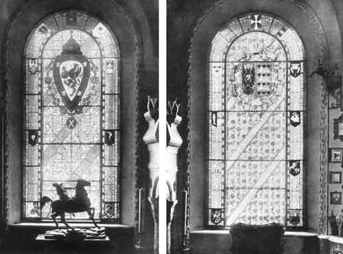 Геральдические витражи в «музее» Аничкова дворца. 1871. Не сохранились. («Художественные сокровища России». СПб., 1903. Вып. 3. Ч. 2. № 2-3)&lt;br /&gt;&lt;br /&gt;&lt;br /&gt;&lt;br /&gt;&lt;br /&gt;&lt;br /&gt;&lt;br /&gt;&lt;br /&gt;&lt;br /&gt;&lt;br /&gt;<br />