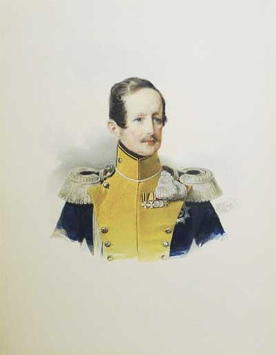 В и гау портрет герцога вильгельма